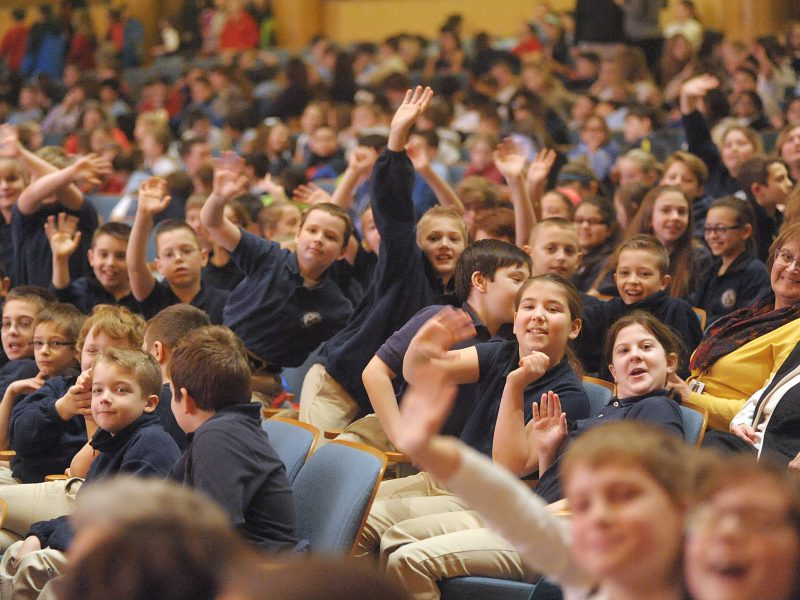 20160203 - Area Catholic Schools attend a concert at the Buffalo Philharmonic Orchestra.